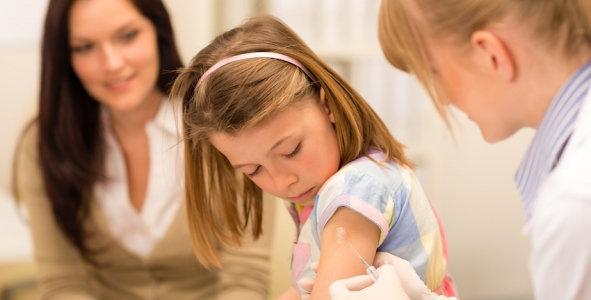 MMR vaccination rates for 5-year olds hit WHO target in England for first time