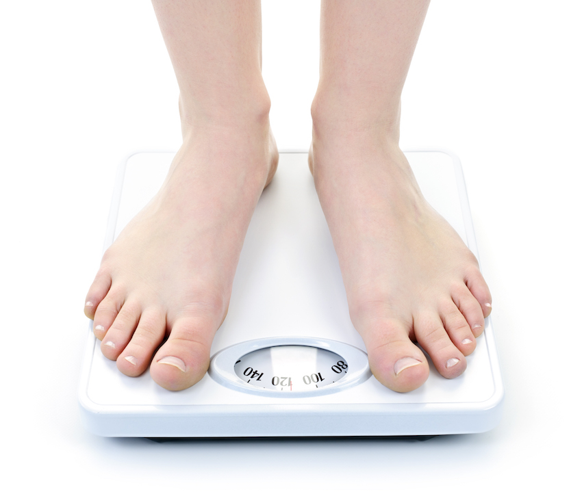 a bathroom scales image