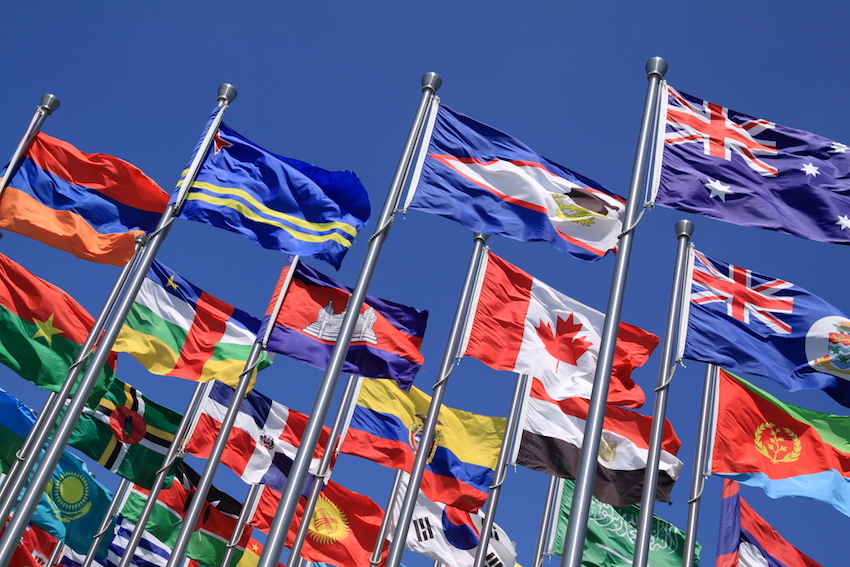 a international flags image cb