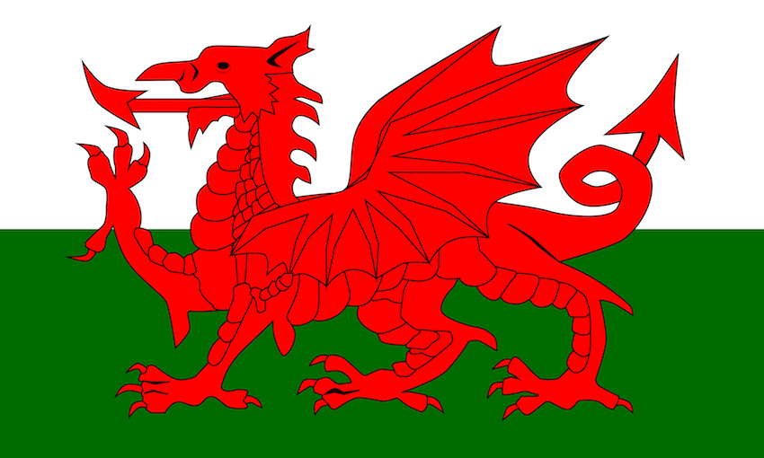 a welsh flag image